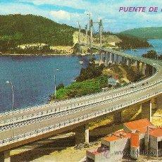 Postales: VIGO (PONTEVEDRA), PUENTE DE RANDE - POSTALES FAMA 3039 - SIN CIRCULAR. Lote 33748891