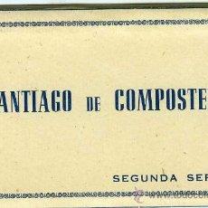 Postales: LOTE 10 POSTALES SANTIAGO DE COMPOSTELA. Lote 34116674