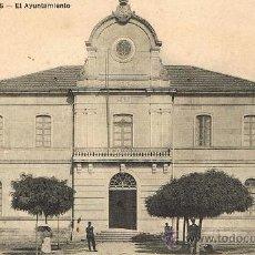Postales: RRR POSTAL 1909 - PUENTEAREAS - PONTEAREAS - PONTEVEDRA - GALICIA - AYUNTAMIENTO - PEDRO ESTEVEZ. Lote 34166053