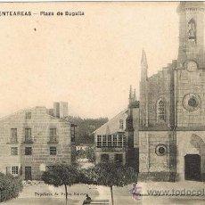 Postales: RRR POSTAL 1909 - PUENTEAREAS - PONTEAREAS - PONTEVEDRA - GALICIA - PLAZA DE BUGALLA - PEDRO ESTEVEZ. Lote 34166090