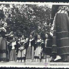 Postales: SANTIAGO DE COMPOSTELA (LA CORUÑA).- ACTUACION DE LOS COROS EN EL CONCURSO DE CANTOS Y BAILES REGION. Lote 34192368