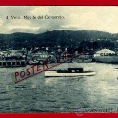 Postales: POSTAL VIGO, PONTEVEDRA, MUELLE DEL COMERCIO, P73437B. Lote 34438982