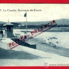 Cartoline: POSTAL LA CORUÑA, BALNEARIO DE RIAZOR, P73473. Lote 34439530
