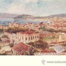 Postales: VIGO (PONTEVEDRA).- VISTA PARCIAL DE LA CIUDAD. Lote 34476625