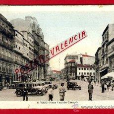 Cartoline: POSTAL VIGO, PONTEVEDRA, PLAZA CAPITAN CARRERO, P73518. Lote 34510943