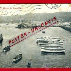 Postales: POSTAL VIGO, PONTEVEDRA, MUELLE DEL COMERCIO, P73519. Lote 34510949