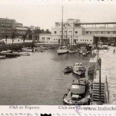 Postales: POSTAL FOTOGRAFICA - DARSENA REAL CLUB NAUTICO DE VIGO - ROISIN - 1950. Lote 34526823