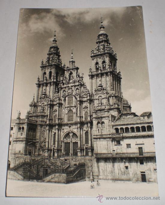 POSTAL ANTIGUA, CATEDRAL DE SANTIAGO DE COMPOSTELA, EDICIONES ARTIGOT (Postales - España - Galicia Moderna (desde 1940))