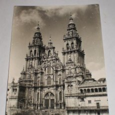 Postales: POSTAL ANTIGUA, CATEDRAL DE SANTIAGO DE COMPOSTELA, EDICIONES ARTIGOT. Lote 34647788