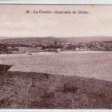 Postales: POSTAL 49 LA CORUÑA. ENSENADA DE ORZÁN. Lote 35014379