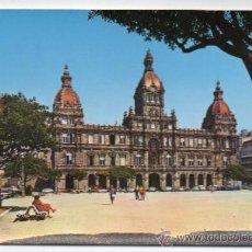 Postales: LA CORUÑA. PLAZA DE Mª PITA. AYUNTAMIENTO.. Lote 35309495