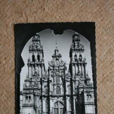 Postales: POSTAL. SANTIAGO DE COMPOSTELA. CATEDRAL. FACHADA DEL OBRADOIRO.. Lote 35396774