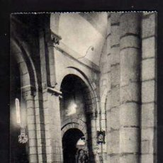 Postales: SANTIAGO DE COMPOSTELA. COLEGIATA DEL SAR. COLUMNAS INCLINADAS. FOTOTOPIA THOMAS.. Lote 35674300