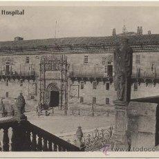 Postales: SANTIAGO DE COMPOSTELA.- HOSPITAL.. Lote 35677928