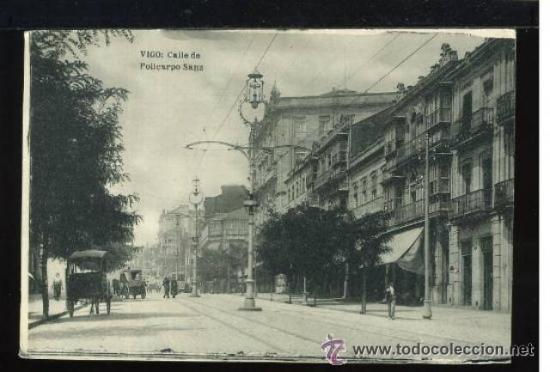 (A00786) VIGO - CALLE DE POLICARPIO SANZ - HAUSER Y MENET (Postales - España - Galicia Antigua (hasta 1939))