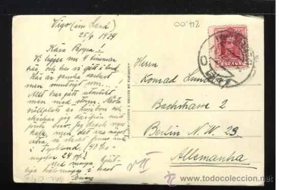 Postales: (A00786) Vigo - Calle De Policarpio Sanz - Hauser Y Menet - Foto 2 - 35697424