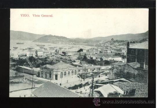 (A00787) VIGO - VISTA GENERAL - VAZQUEZ (Postales - España - Galicia Antigua (hasta 1939))