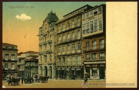 (A00794) VIGO - PUERTA DE SOL (Postales - España - Galicia Antigua (hasta 1939))