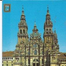 Postales: +-+ PW149 - POSTAL - SANTIAGO DE COMPOSTELA - FACHADA PRINCIPAL DE LA CATEDRAL. Lote 35954058