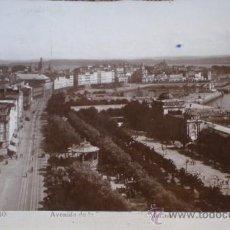 Postales: POSTAL FOTOGRAFICA DE LA AVENIDA DE LA MARINA DE LA CORUÑA - GUILERA. Lote 36052866