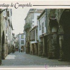 Postales: SANTIAGO DE COMPOSTELA.- ``RUA DE VILLAR´´.. Lote 36177974