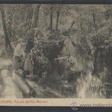 Postales: PONTEVEDRA - 7 - RINCON DEL RIO MENEXO - THOMAS - (13.911). Lote 36227451