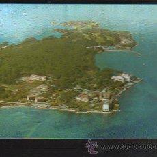 Postales: TARJETA POSTAL DE ISLA DE LA TOJA - VISTA AEREA. 3524. POSTALES FAMA. Lote 36232566