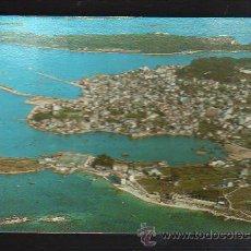 Postales: TARJETA POSTAL DE EL GROVE - VISTA AEREA, AL FONDO ISLA DE LA TOJA. 3168. POSTALES FAMA. Lote 36232573