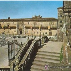 Postales: +-+ PW - 860 - POSTAL - SANTIAGO DE COMPOSTELA - HOSTAL DE LOS REYES CATOLICOS. Lote 36248447