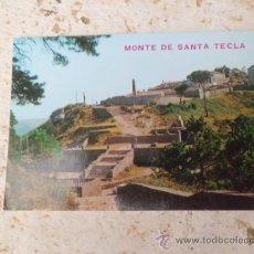 Postales: POSTAL LA GUARDIA PONTEVEDRA Nº 3580 MONTE DE SANTA TECLA S/C A-169. Lote 36363902