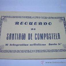 Postales: ANTIGUO BLOC DE POSTALES FOTOGRAFICAS....SANTIAGO DE COMPOSTELA.. Lote 36444211