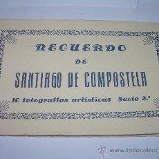 Postales: ANTIGUO BLOC DE POSTALES FOTOGRAFICAS....SANTIAGO DE COMPOSTELA.. Lote 36444292