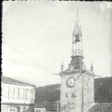 Postales: LA GUARDIA (PONTEVEDRA).- TORRE DEL RELOJ. Lote 36453458