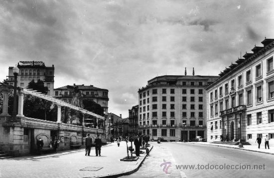 ORENSE.- GOBIERNO CIVIL Y PLAZA DE SAN LAZARO.- EDICIONES SICILIA Nº 25. FOTOGRÁFICA. (Postales - España - Galicia Moderna (desde 1940))