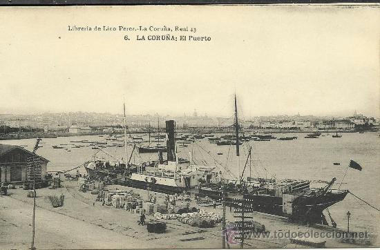 Fotos antiguas puerto de la corua 15