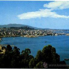 Postales: POSTAL VIGO - PANORAMICA DESDE LA GUIA. Lote 36714540