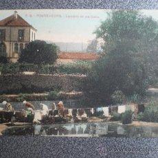 Postales: GALICIA PONTEVEDRA LAVADERO DE LOS GAFOS POSTAL ANTIGUA. Lote 36759272