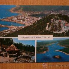 Postales: PONTEVEDRA. LA GUARDIA. MONTE DE SANTA TECLA.. Lote 36764565
