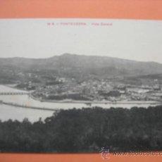 Postales: POSTAL. PONTEVEDRA. VISTA GENERAL. EDICIÓN VIÑAS Nº 16 A. Lote 36819433