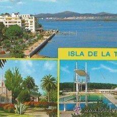 Postales: +-+ PW411 - POSTAL - ISLA DE LA TOJA - SIN CIRCULAR. Lote 36976529