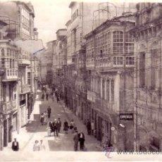 Postales: LUGO - MONFORTE DE LEMOS - CALLE DEL COMERCIO - EDICIONES ARRIBAS Nº 23. Lote 36980360