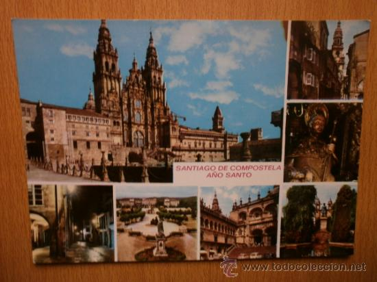 SANTIAGO DE COMPOSTELA. (Postales - España - Galicia Moderna (desde 1940))