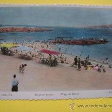 Postales: POSTAL SIN CIRCULAR CORUÑA ROISIN Nº 338 PLAYA DE RIAZOR. Lote 37018373