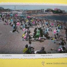 Postales: POSTAL SIN CIRCULAR CORUÑA ROISIN Nº 368 PLAYA DE RIAZOR. Lote 37018461