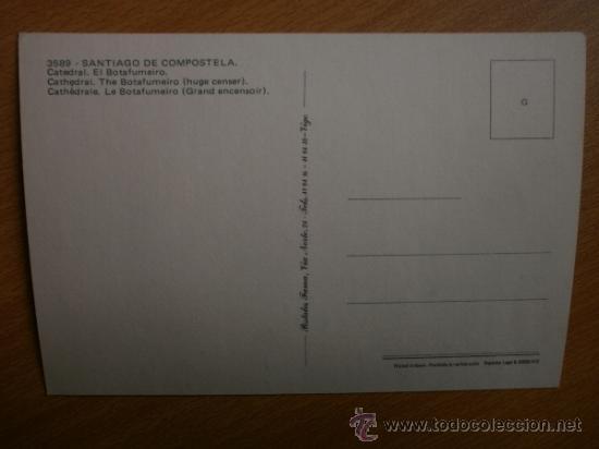Postales: SANTIAGO DE COMPOSTELA. - Foto 2 - 37019136