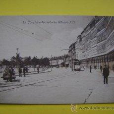 Postcards - Postal sin circular Coruña Tabacos Carmen Paz, Avenida de Alfonso XIII - 37042174