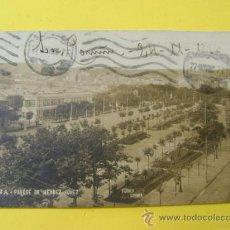 Postales: POSTAL CIRCULADA CORUÑA TENSI, FOTO FERRER, PARQUE DE MÉNDEZ NÚÑEZ. Lote 37080949