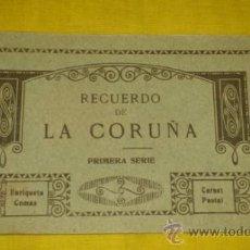 Postales: RECUERDO DE LA CORUÑA, EXPENDEDURIA ENRIQUETA COMAS, CORUÑA, FOTOTIPIA THOMAS. Lote 37087721
