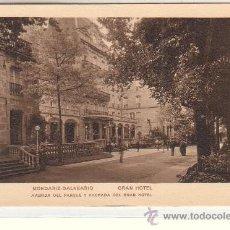 Postales: MONDARIZ (PONTEVEDRA).- BALNEARIO. GRAN HOTEL. Lote 37406118