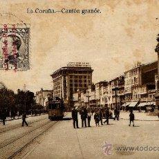 Postales: LA CORUÑA.CANTON GRANDE.. Lote 37639091